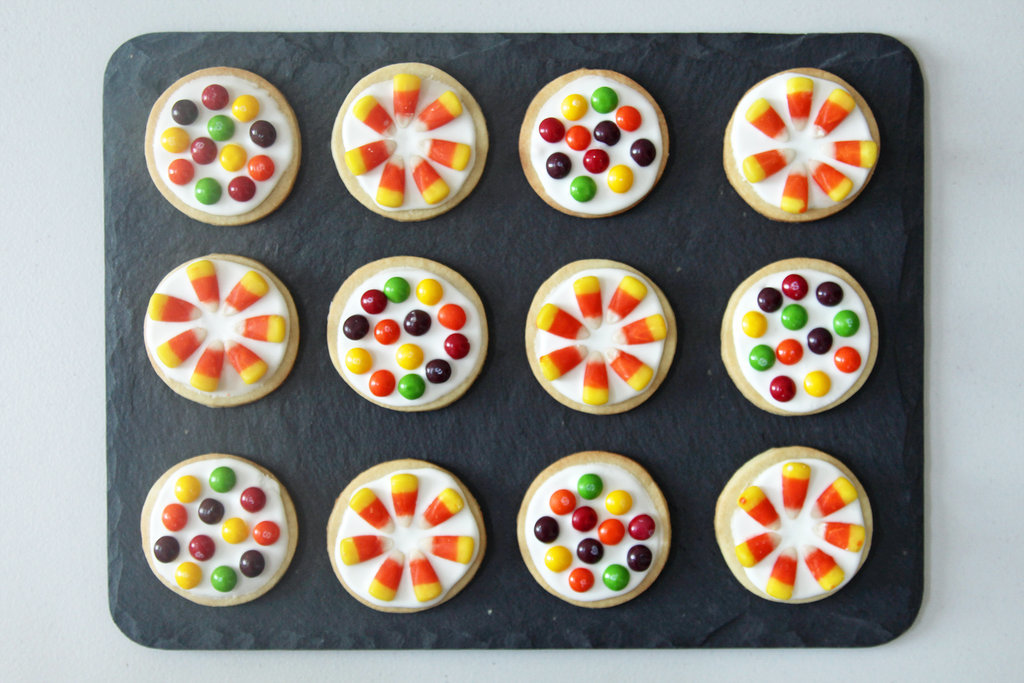 Candy-Covered Cookies