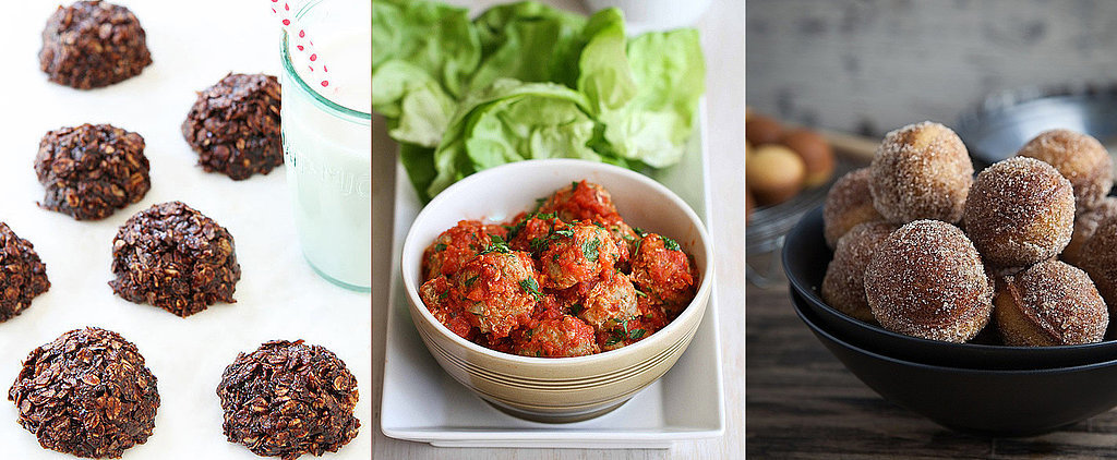 "25 Ways to Have a ""Ball"" at Snack Time"