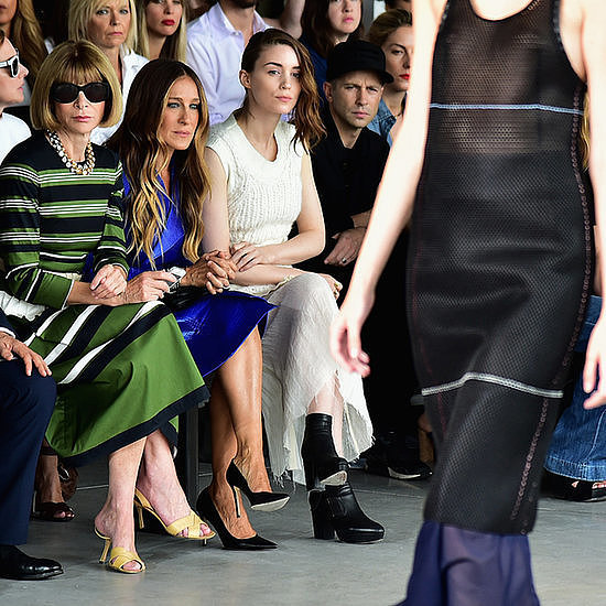 Celebrities Front Row at Spring 2015 New York Fashion Week