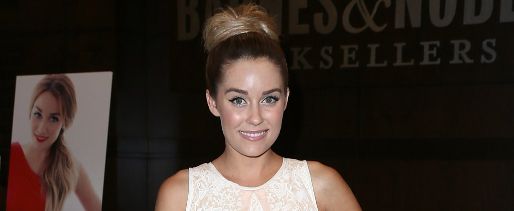 Lauren Conrad Saved Her Dreamy Wedding Up 'Do For the Night Before