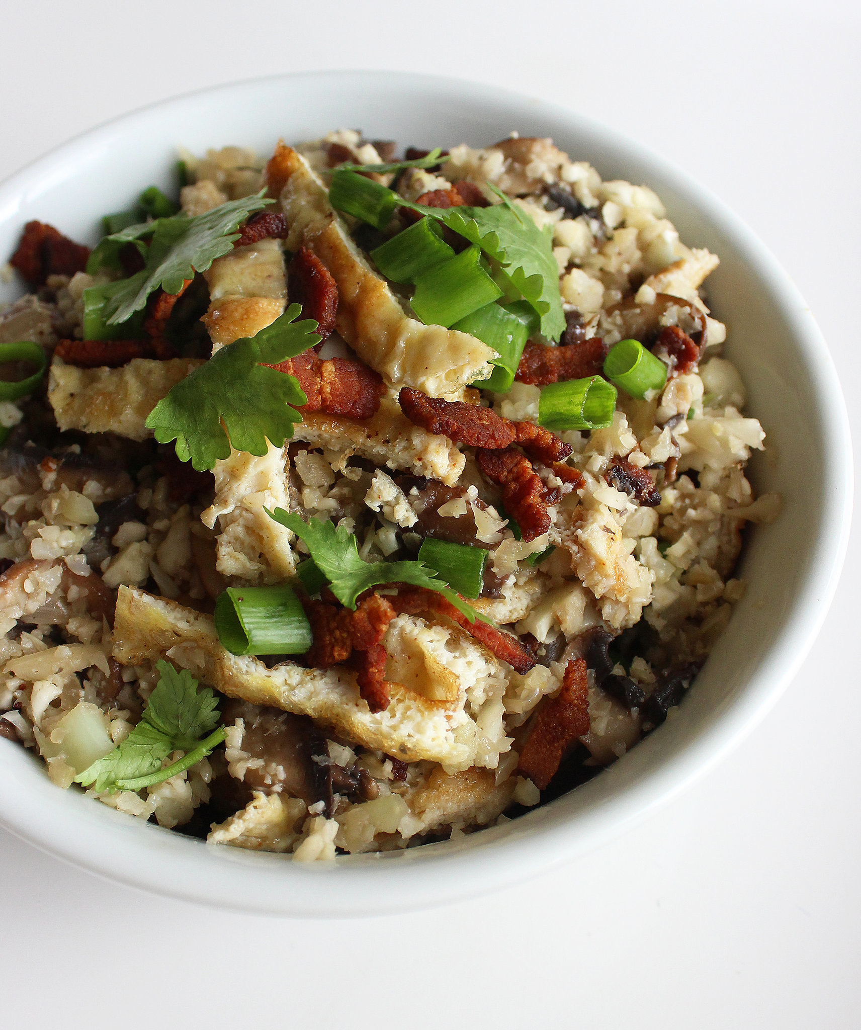 "Asian Cauliflower Fried ""Rice"" 