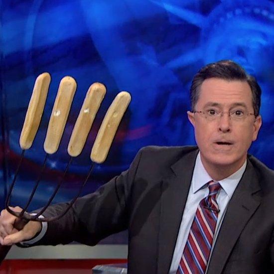 Stephen Colbert Breadsticks Video