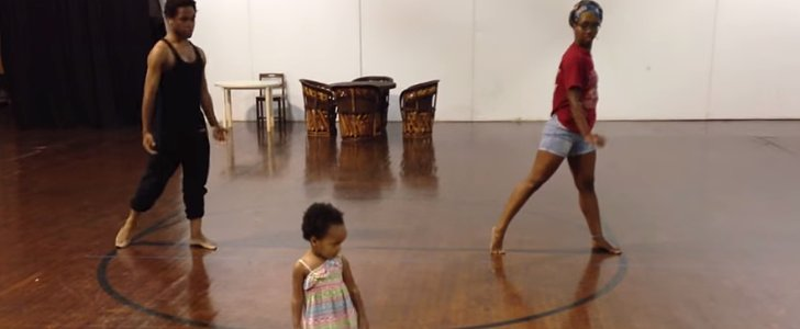 """You Must See This Toddler's Choreography to """"Chandelier"""""""