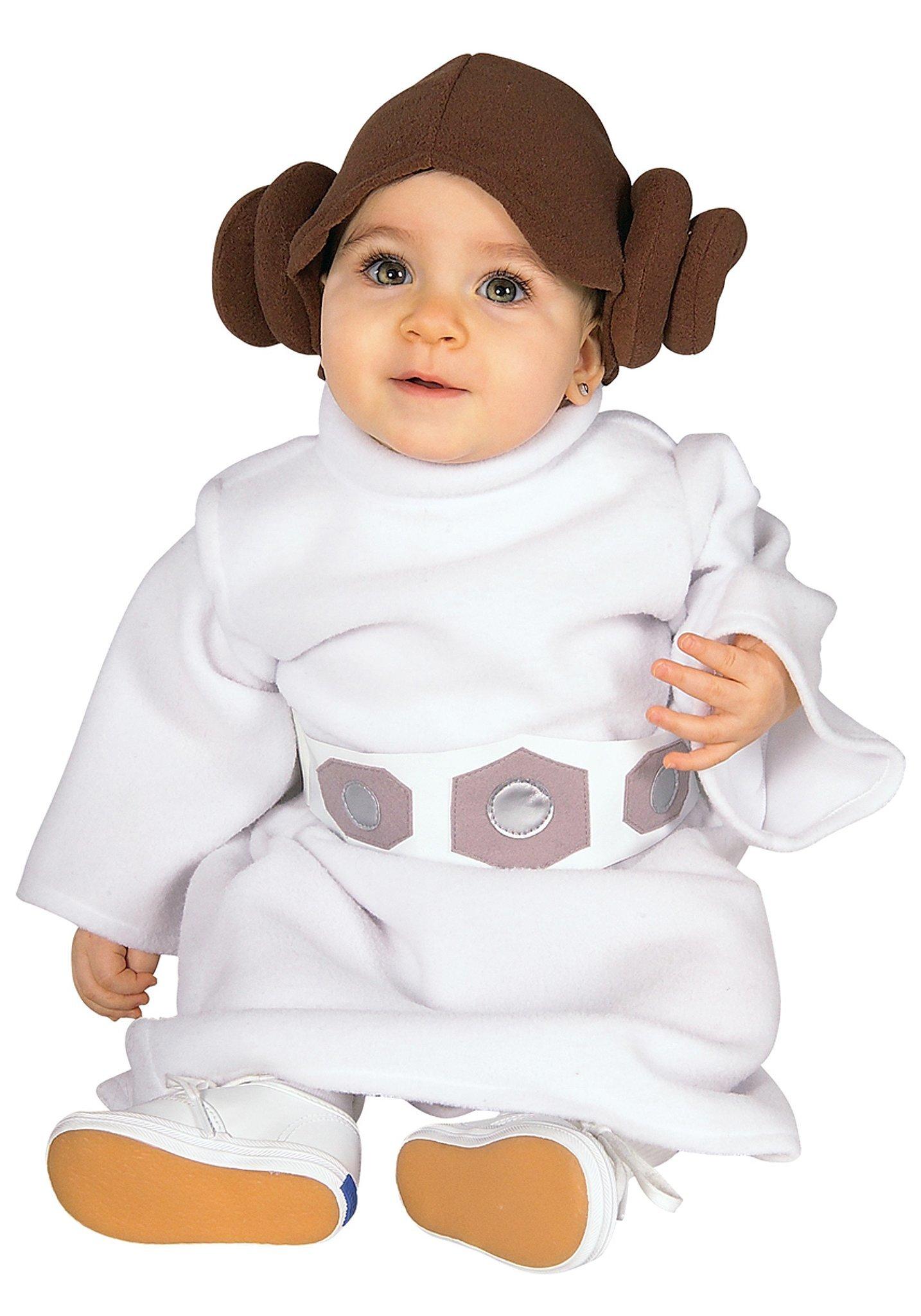 princess leia baby 39 s first halloween 26 cute costume ideas popsugar moms. Black Bedroom Furniture Sets. Home Design Ideas
