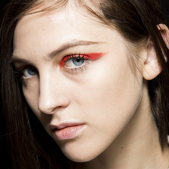 Spring 2015 Milan Fashion Week Hair and Makeup