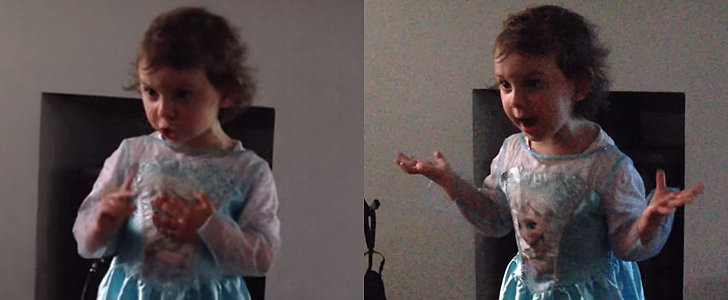 This Adorably Angry Little Girl Made For the Year's Most Popular Viral Video