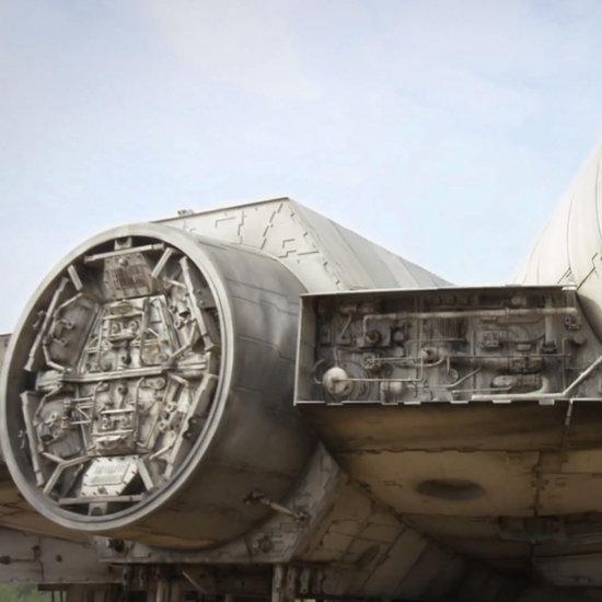 Millennium Falcon Video With Batmobile Easter Egg