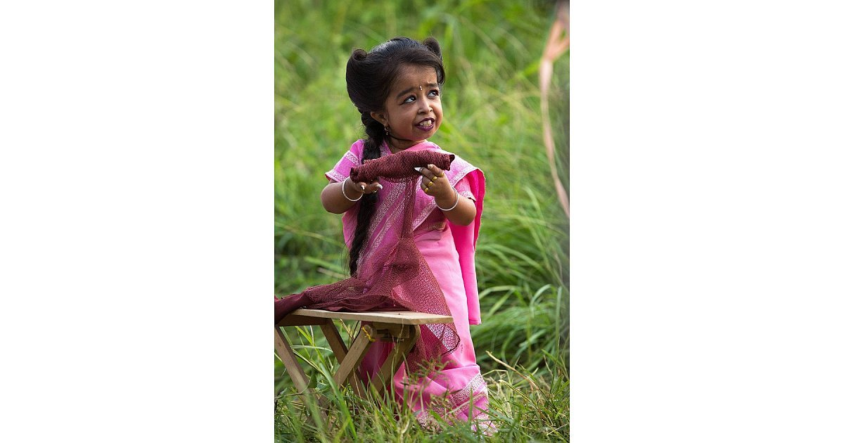 The world's smallest woman, Jyoti Amge, is also in the ...