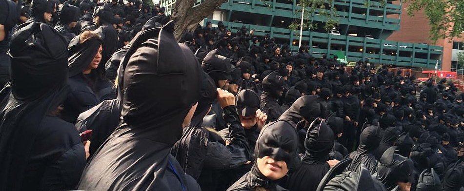 This Is What 542 Batmen Look Like