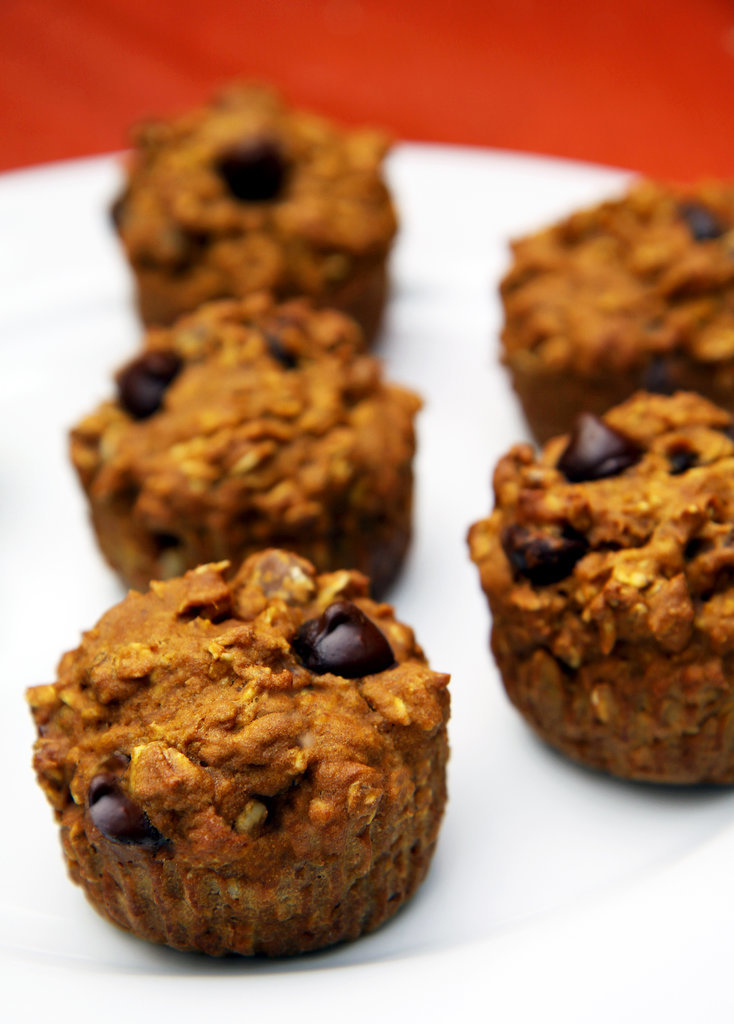 Oatmeal Dark Chocolate Chip Muffins