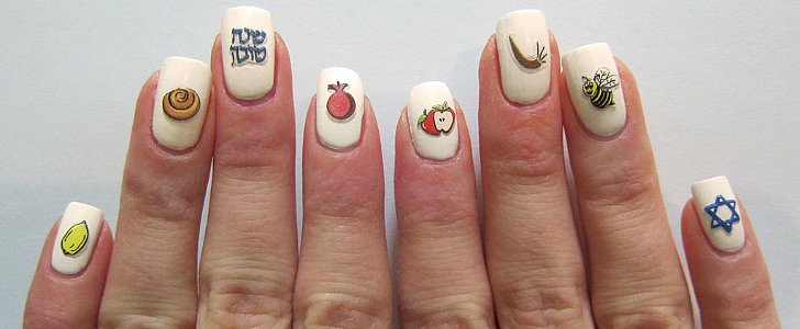 Celebrate Hanukkah With These Holiday Nail Art Looks