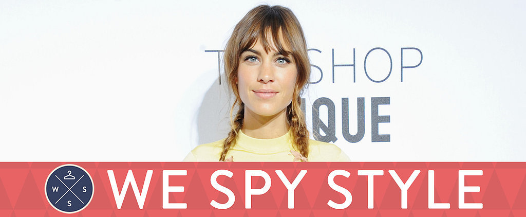 We Spy: Are Alexa Chung's Pigtails Too Immature?