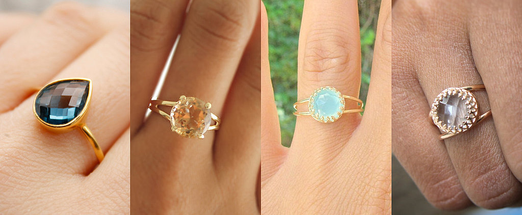 25 Gorgeous Engagement Rings That Cost Under $100
