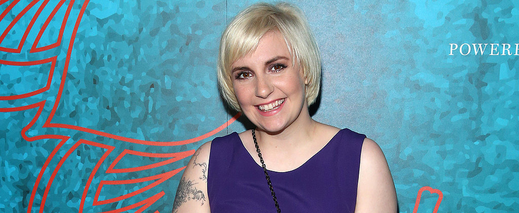 Lena Dunham (Now) Refuses to Obsess Over Her Weight