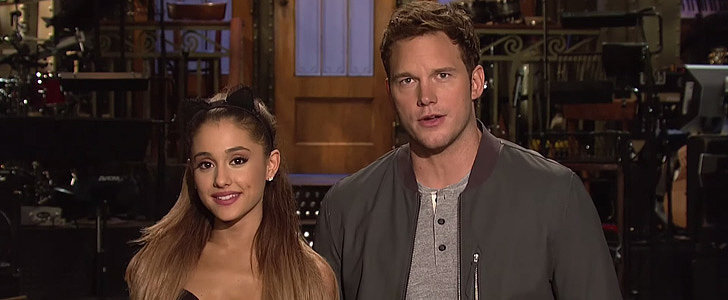 Chris Pratt and Ariana Grande's SNL Promos Are Both Funny and Awkward