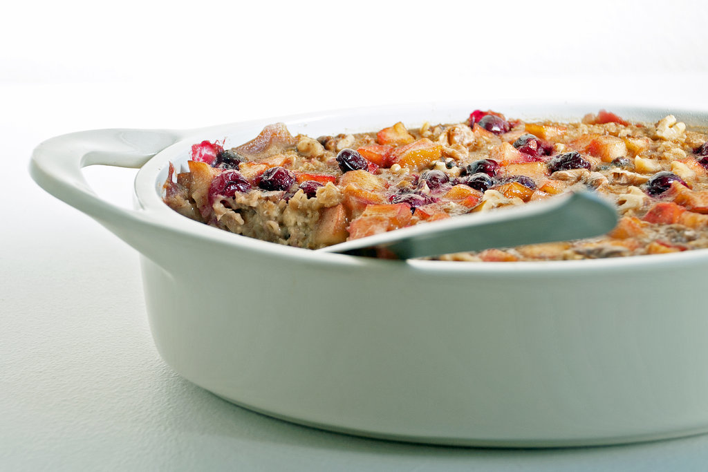 Apple-Cranberry Baked Oatmeal