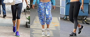 Which Celebs Have Been Sweating It Out This Month?