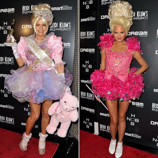Celebrities Wearing the Same Halloween Costumes