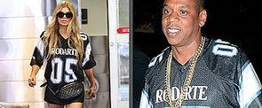 Is Jay Z Wearing Beyoncé's Clothing?