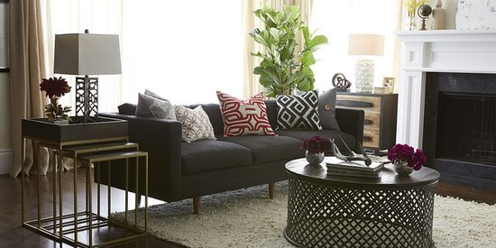 Here's Why You Should Start Decorating Your Entire Home With The Living Room