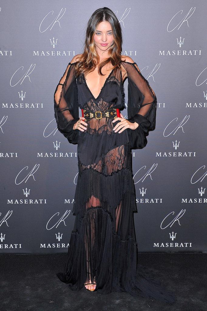 Miranda Kerr 39 S All Black Paris Street Style Outfits Popsugar Fashion Australia