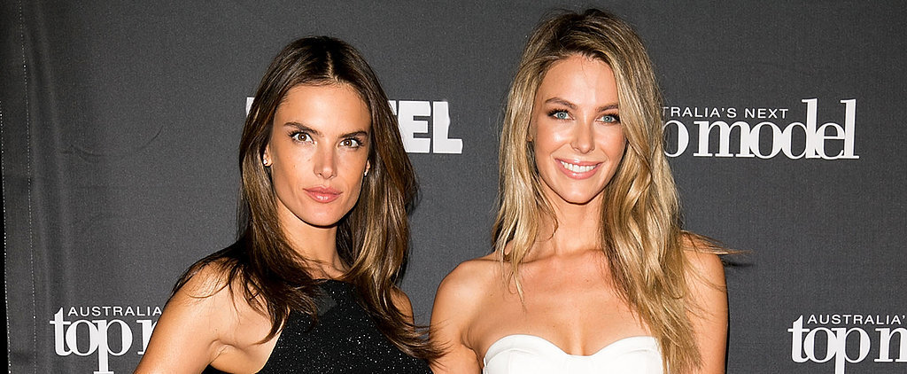 Jennifer Hawkins Welcomes Alessandra Ambrosio to Australia's Next Top Model
