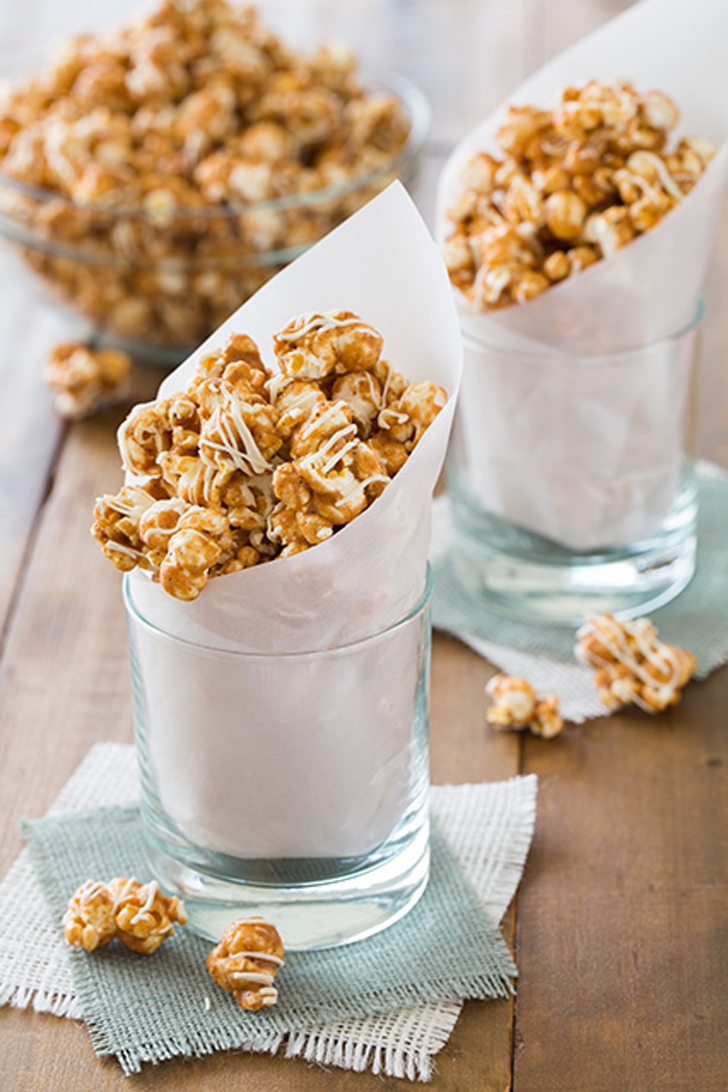 Pumpkin Spice White Chocolate Caramel Popcorn | All of the Pumpkin ...