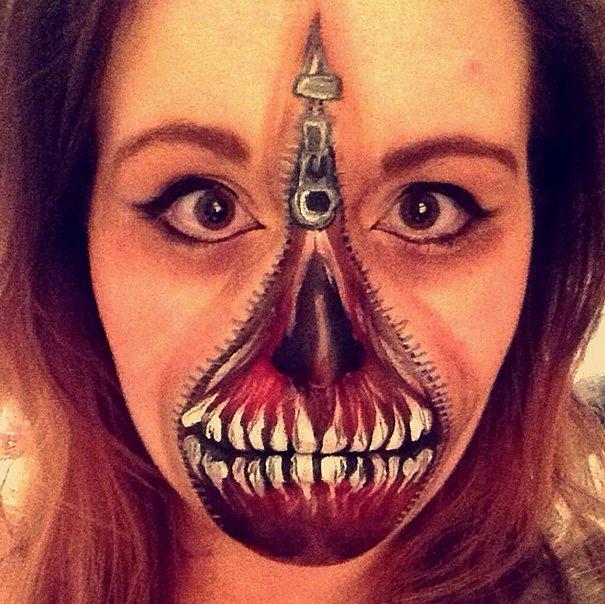 Halloween Face Paint Ideas POPSUGAR Beauty - Makeup Face Painting Ideas