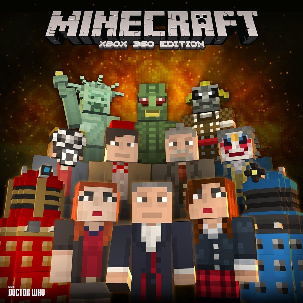 Minecraft Doctor Who Skins Volume One   POPSUGAR Tech