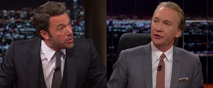 Everyone's Still Talking About Ben Affleck's Heated Debate With Bill Maher