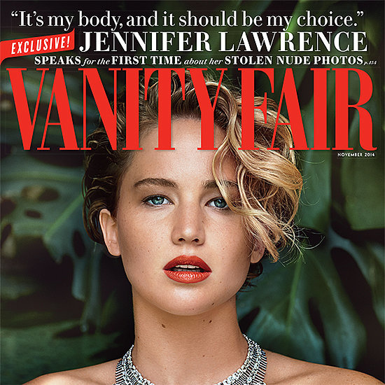 Jennifer Lawrence Speaks Out on Hacked Nude Photos