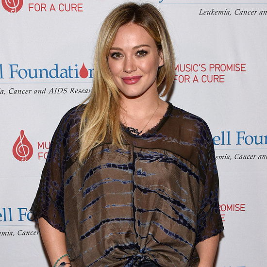 Hilary Duff Talks About Aaron Carter's Tweets | Video
