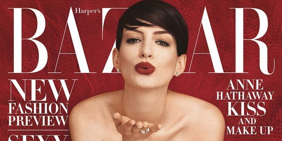 Anne Hathaway Covers Harper's Bazaar, Proves She's A Badass