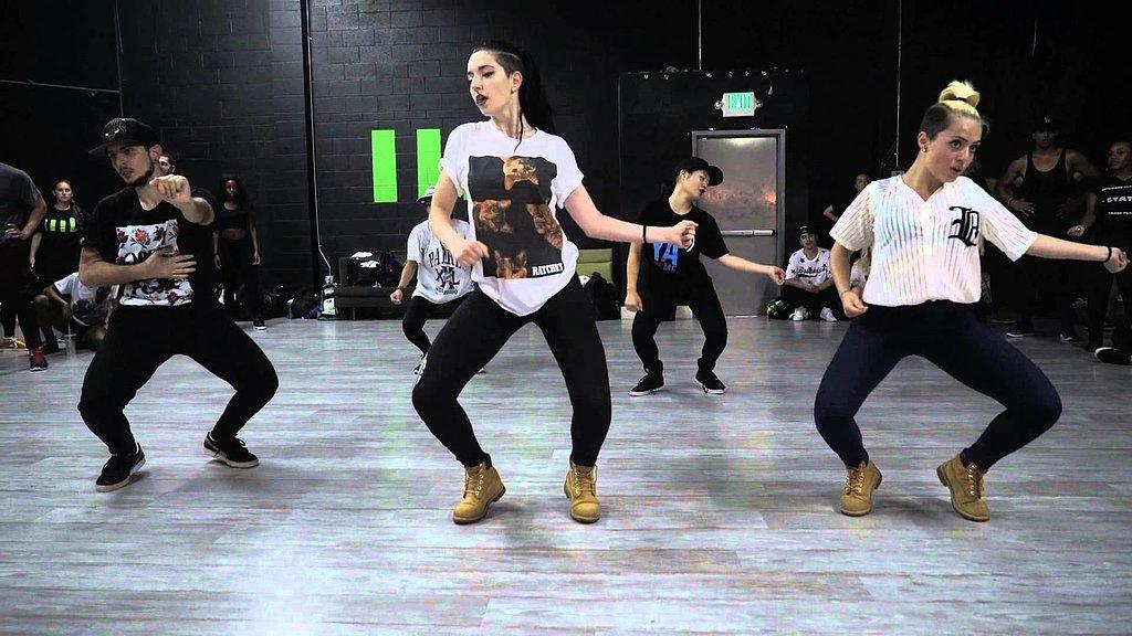 Best quot anaconda quot choreography videos popsugar celebrity