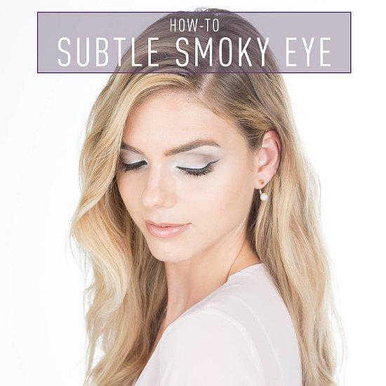Subtle Smoky Eye Look