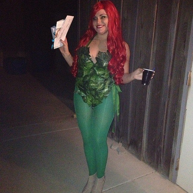 15 easy diy halloween costumes on a college budget her campus what you need to do get a green leotard and package of fake leaves hot glue the fake leaves to the leotard wear a pair of green tights solutioingenieria Gallery