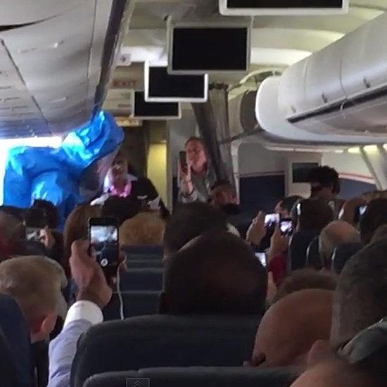 Man Jokes About Having Ebola On Plane