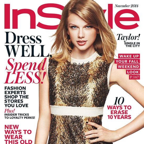 Taylor Swift InStyle Interview November 2014
