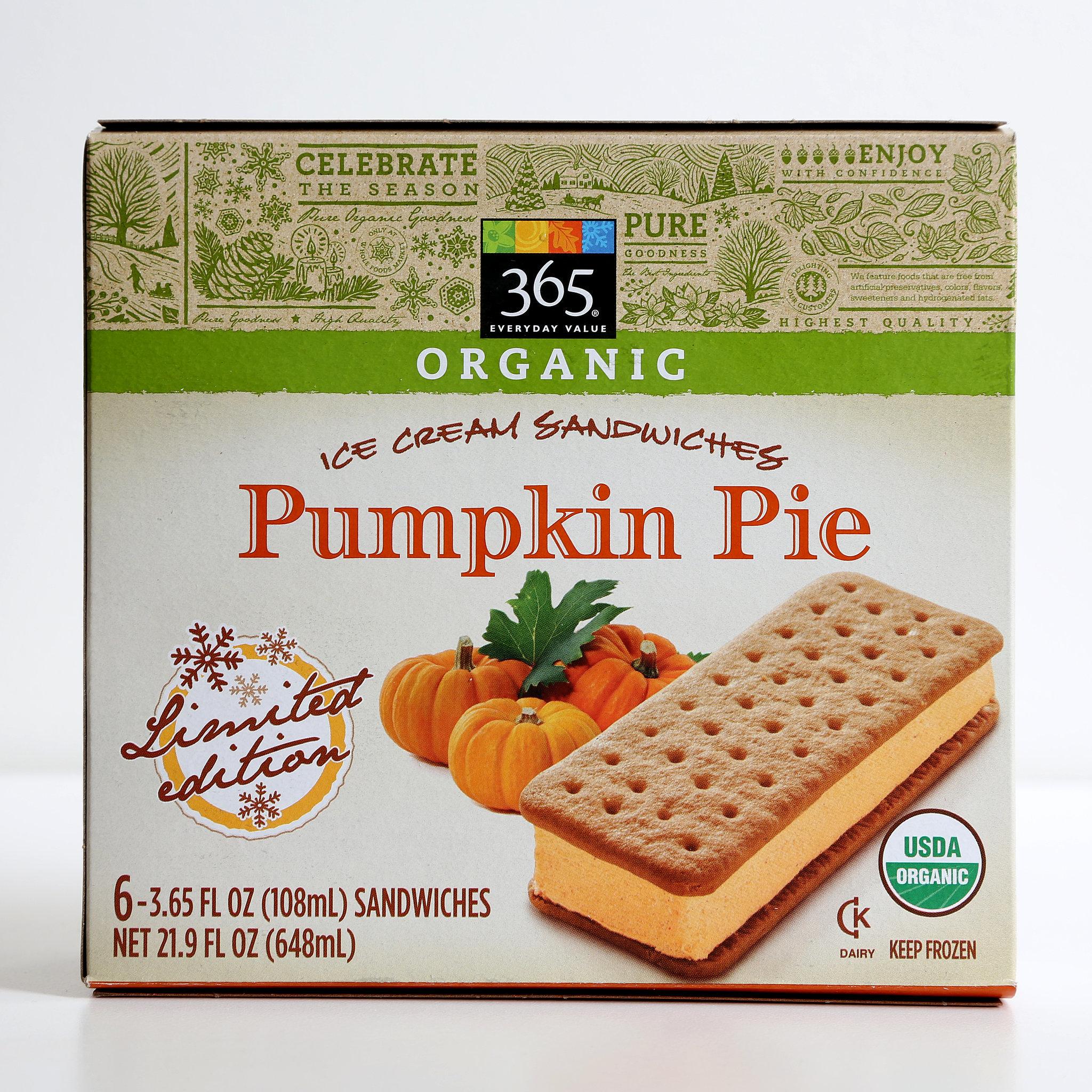 365 Pumpkin Pie Ice Cream Sandwiches   80+ Pumpkin Spice Products ...