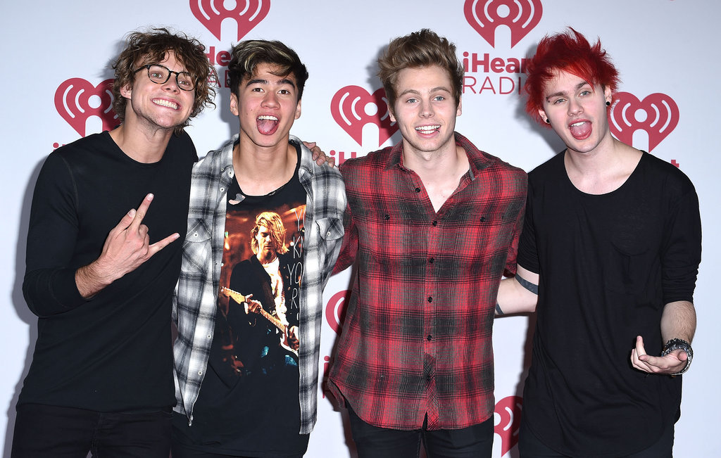 5 Seconds Of Summer Top The Uk Album Charts
