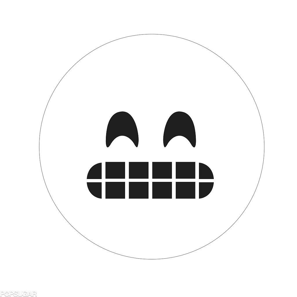 Smiling Face With Open Mouth and Smiling Eyes Emoji Templates by Morgan Pugh