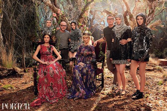 Dolce & Gabbana Interview Fantasy Dressing Porter Magazine