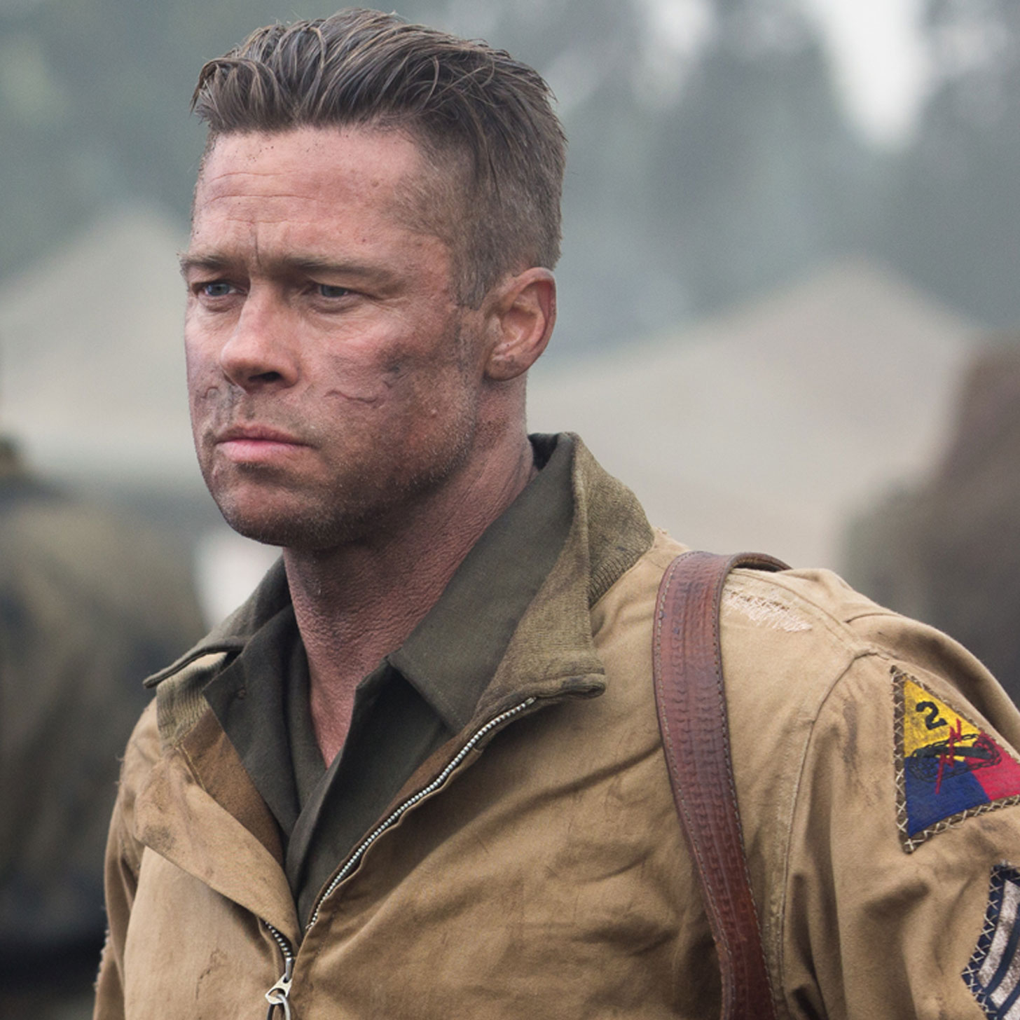 Brad Pitt's Fury Movie...