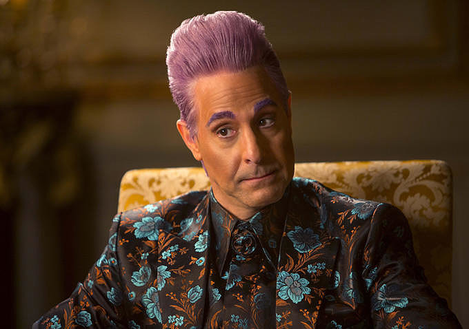 Not even Caesar Flickerman (Stanley Tucci).