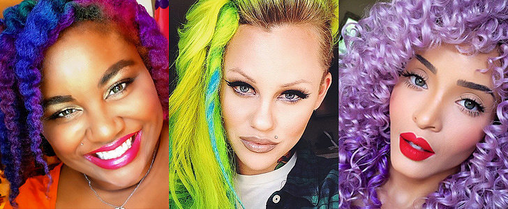 76 Real Girls Who Dare to Rock Rainbow Mermaid Hair