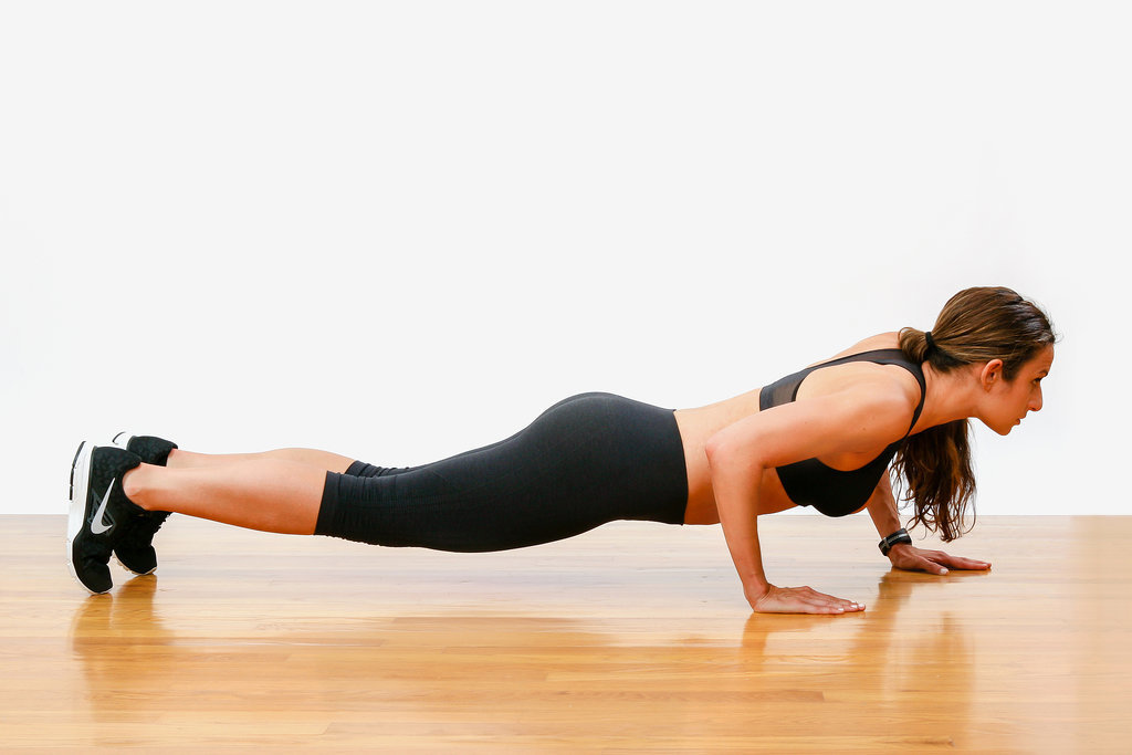 Exercise One: Staggered Push-Ups | 7 Moves to Stronger ...