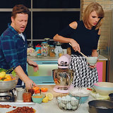 "Jamie Oliver and Taylor Swift's ""Bake It Off"" 
