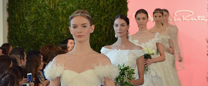 The Most Gorgeous Wedding Dresses We've Ever Seen Were All Designed by Oscar de la Renta
