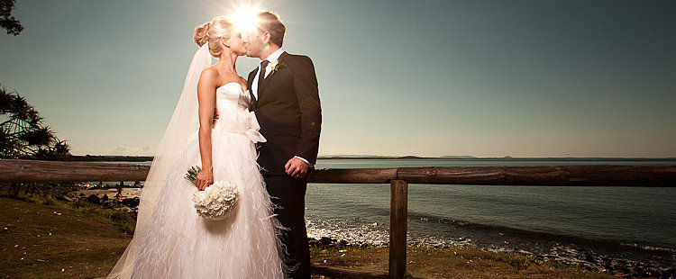 Real Brides: Not Your Classic Seaside Ceremony