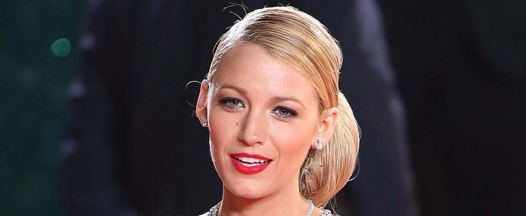 Blake Lively Is Good at Everything, Even Choosing Red Lipstick